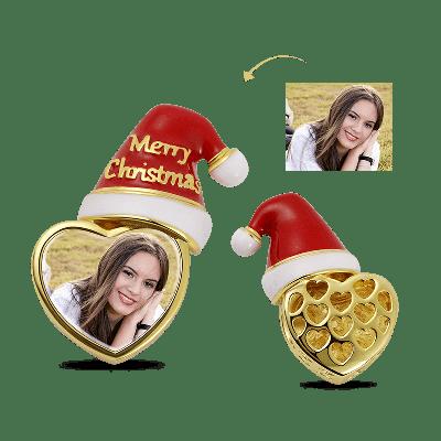 Charm Photo Chapeau de Noël