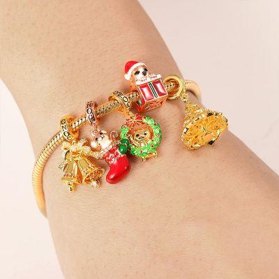 Bracelet Charms pour Noël
