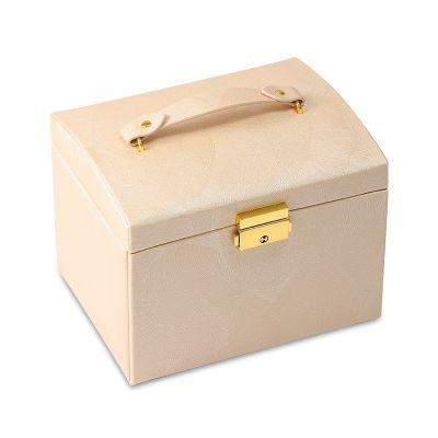 Boîte à Bijoux de Luxe à Trois Couches