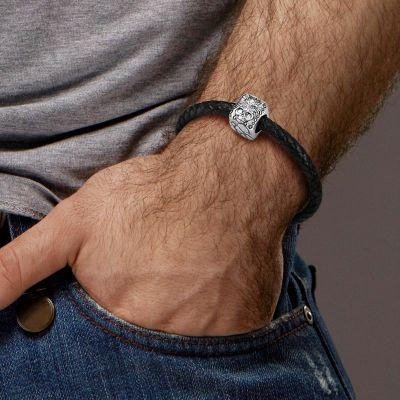 Bracelet Charm Loup Crâne