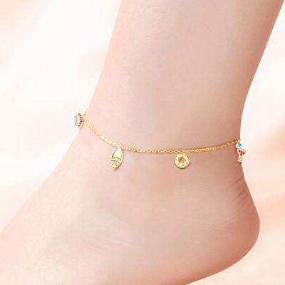 Bracelet de Cheville Arc-en-ciel
