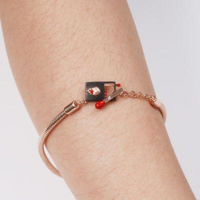Bracelet OT Rose Petite Fille aux Allumettes