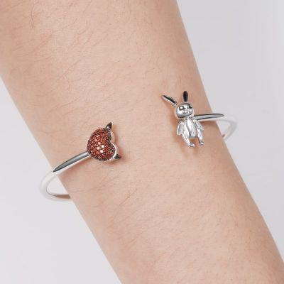 Bracelet Lapin et Cœur