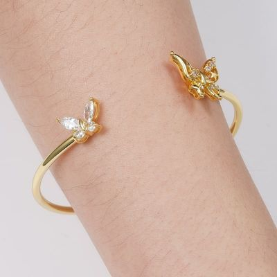 Bracelet Jonc Papillon