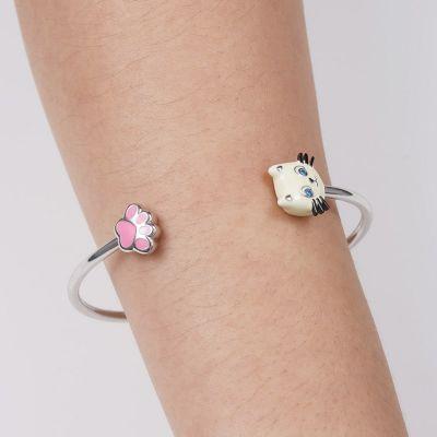 Bracelet Jonc Patte de Chat