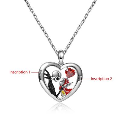 Collier Jack&Sally