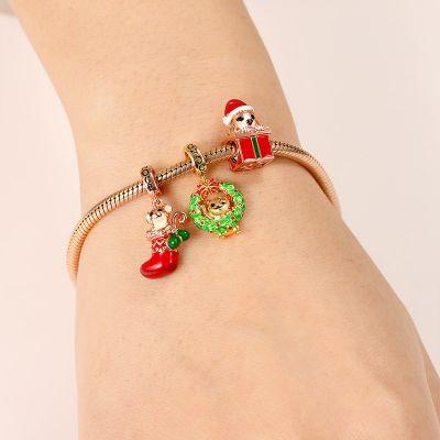 Bracelet Charms Cadeau de Noël