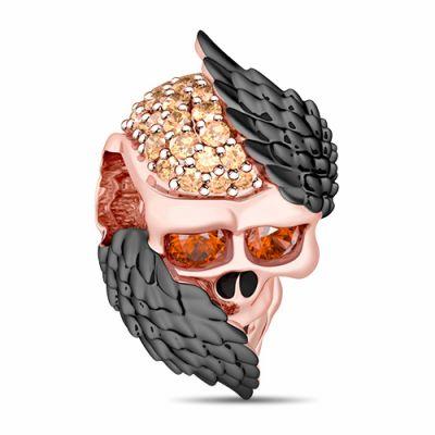 Crâne avec Ailes d'Ange