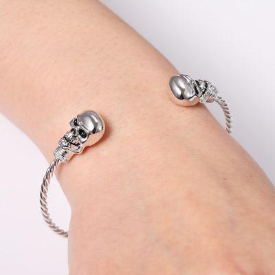 Bracelet Jonc Crâne