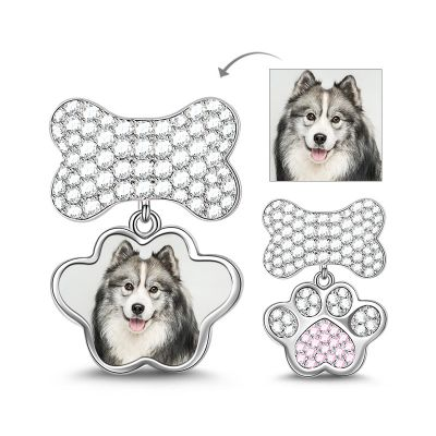 Pendentif Os Patte Charm Photo