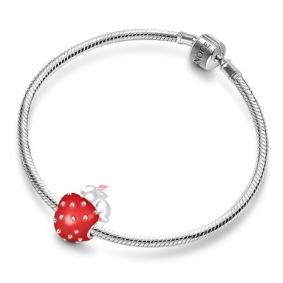 Charm Lapin Fraise