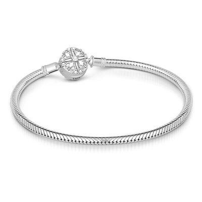 Bracelet Classique Fermoir Trèfle