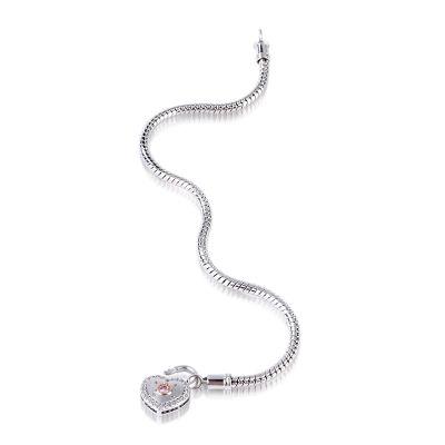 Bracelet Serrure Cœur