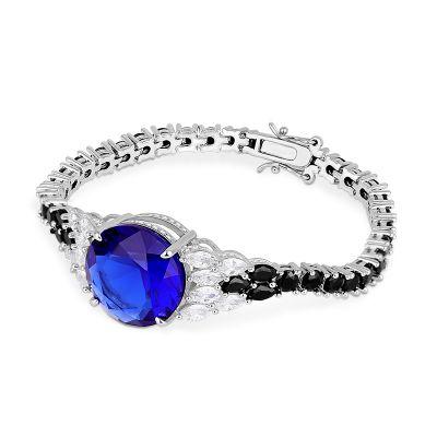 Bracelet Tennis Saphir