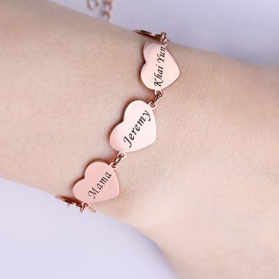 Bracelet Cœur Personnalisé
