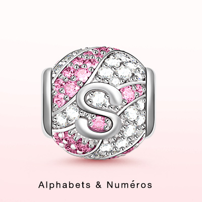 Alphabet & Numbers Charms