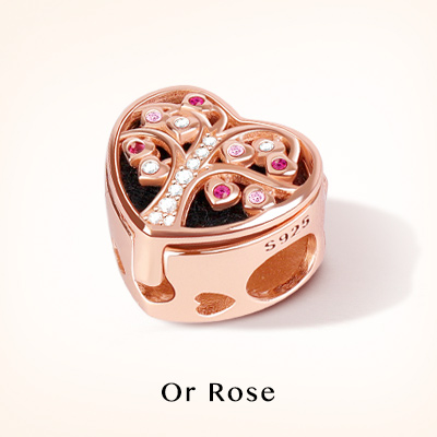 Rose Gold Charms