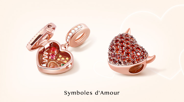 Symbol of Love Charms